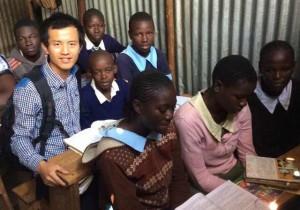 海森:在肯尼亚众筹建一座学校