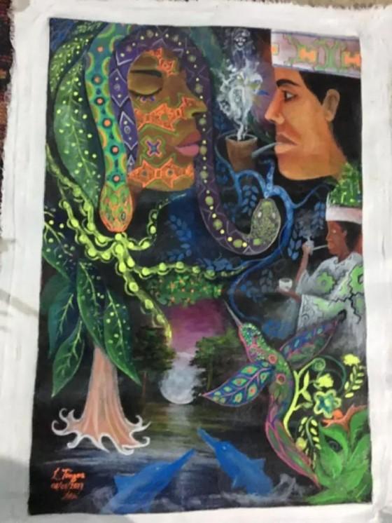 在秘鲁南部,我喝下草药致幻剂,体验了一回魔幻现实主义